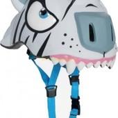 Новинка! Защитный шлем Белый Тигр от Crazy Safety