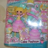 Лалалупси сластена Lalaloopsy girls cake fashion doll - Candle slice O´cake