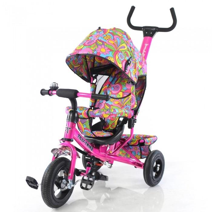 Детский трёхколёсный велосипед tilly trike t- 351- 6 надувные колеса фото №1