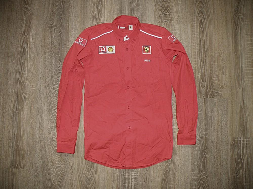 Рубашка Fila & Ferrari. Оригинал. фото №1