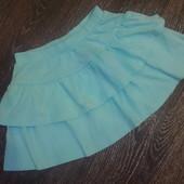 Легкая юбка H&M на 6-7 лет,р.122 см.