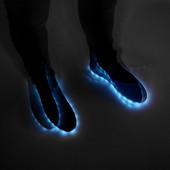Спортивные ботинки с подсветкой.Мужчины.Zara.Испания.