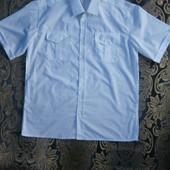 Белоснежная рубашка 50-52 р.