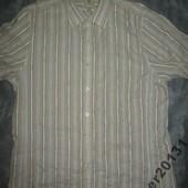 Baracuta четкая фирменная летняя рубашка (L) !Турецкая