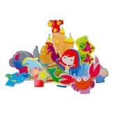 Распродажа - королевство русалочки игровой набор 3d сцена для ванной  от  meadow kids фото №1