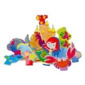 Распродажа - Королевство русалочки Игровой набор 3D сцена для ванной  от  Meadow Kids