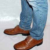 Туфли 42,5 р Gallus Германия кожа полная оригинал