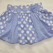 Пышная юбка F&F в горохи ( 1,2-2 года, можно дольше )