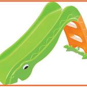 Горка детская пластиковая скользкая 135 см и 1, 8 метра, разные цвета
