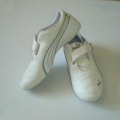 Белые кроссовки Puma, оригинал, р. 39, стелька 25,5 см на 39,5 будет отлично сделаны во Вьетнаме