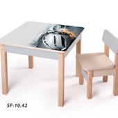Новинка! серия столов-парт для мальчиков - Спортивные авто, (sp-10.42) Вальтер