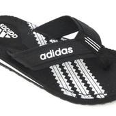 Мужские вьетнамки Adidas 41, 42, 43, 44, 45, 46 размер