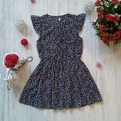 9-10 лет Цветочное платье M&S
