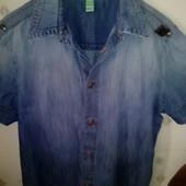 Крутая рубашка Bikkembergs оригинал!