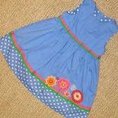 Платье 9-12 мес Mothercare