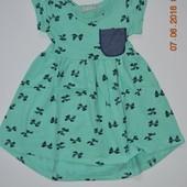 Распродажа    Стильные летние платья от 1 до 10лет в 4 х расцветках