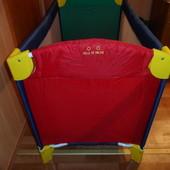 Детская компактная переносная кроватка-манеж