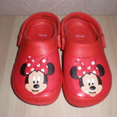 Кроксы Disney Minnie Mouse р.26-27