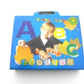 Деревянные кубики Английский алфавит, 20 кубиков