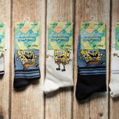 Носочки nickelodeon, очень хорошего качества, губка боб