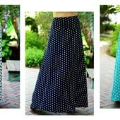 женская длинная юбка 48+