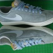 кроссовки кеды Nike Замш р.40 ,25.5 см ( 26 см )