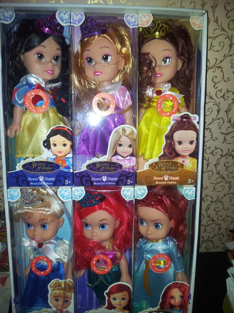Шикарные музыкальные принцессы 27см всего по 165гр фото №1