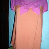 Легкая блуза с бантиком