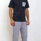Распродажа! мужские комплекты для дома пижамы  М 2ХЛ 3ХЛ