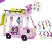 Автобус  Littlest Pet Shop маленький зоомагазин Hasbro #92 баркли barkley woofley собачка B3806 стоя
