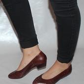Туфли 38 р Claoria Бразилия кожа оригинал