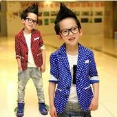 Стильный пиджак для мальчика под заказ