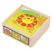 Набор кубиков «Львенок», Lelin Артикул: 22-035