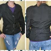 продам чорну куртку жакет, розмір M