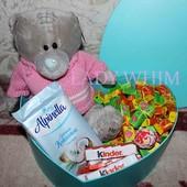 Подарочный набор мишка Тедди + Love is..