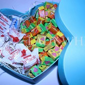 Сердце со сладостями Для любимой
