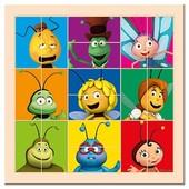 Пазл - Сложи голову - Пчелка Майя Bino 13629