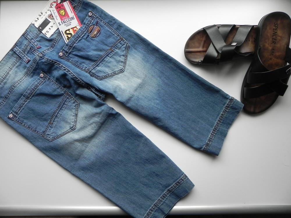 Новые мужские джинсовые шорты 30,32 разм. фото №1