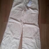 Новые широкие брюки -клеш с посадкой на бёдрах от Stefanel(Италия)р.48