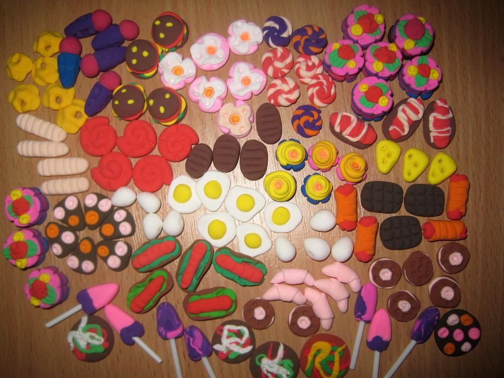 Миниатюрные продукты для игр и кукол барби. набор из 20 шт.-50 грн фото №1