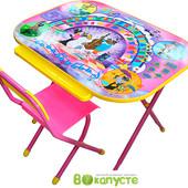 Детский складной набор мебели Дэми Дошкольник Ну, погоди, розовый (Д-20031207)