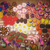 Миниатюрные продукты для игр и кукол Барби. Набор из 20 шт.-50 грн