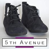 Ботинки женские из натурального замша 36р фирмы 5th Avenue Германия
