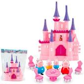 Замок Свинки Пеппы+мебель+4 фигурки