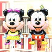 Большие фольгированные шары (78 см) Микки и Минни Маус