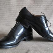 Формальные черные лакированные кожаные туфли-оксфорды Samuel Vindsor.7