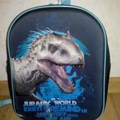 Детский 3D  рюкзак (рюкзачок) Динозавр