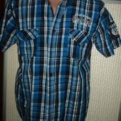 Фірмова оригінал стильна рубашка сорочка  бренд Okay (Окей) .м .