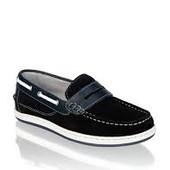 Замшевые туфли мокасины Frank Walker в наличии 35 размер ( темно-синие)