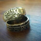 Серебряное кольцо 925* клеймо звезда